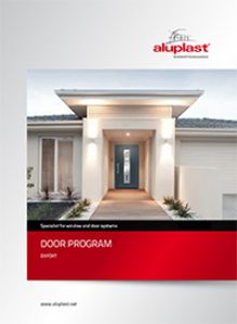aluplast main entrance doors